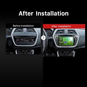 2013 2014 SUZUKI SX4 Car Stereo after installation