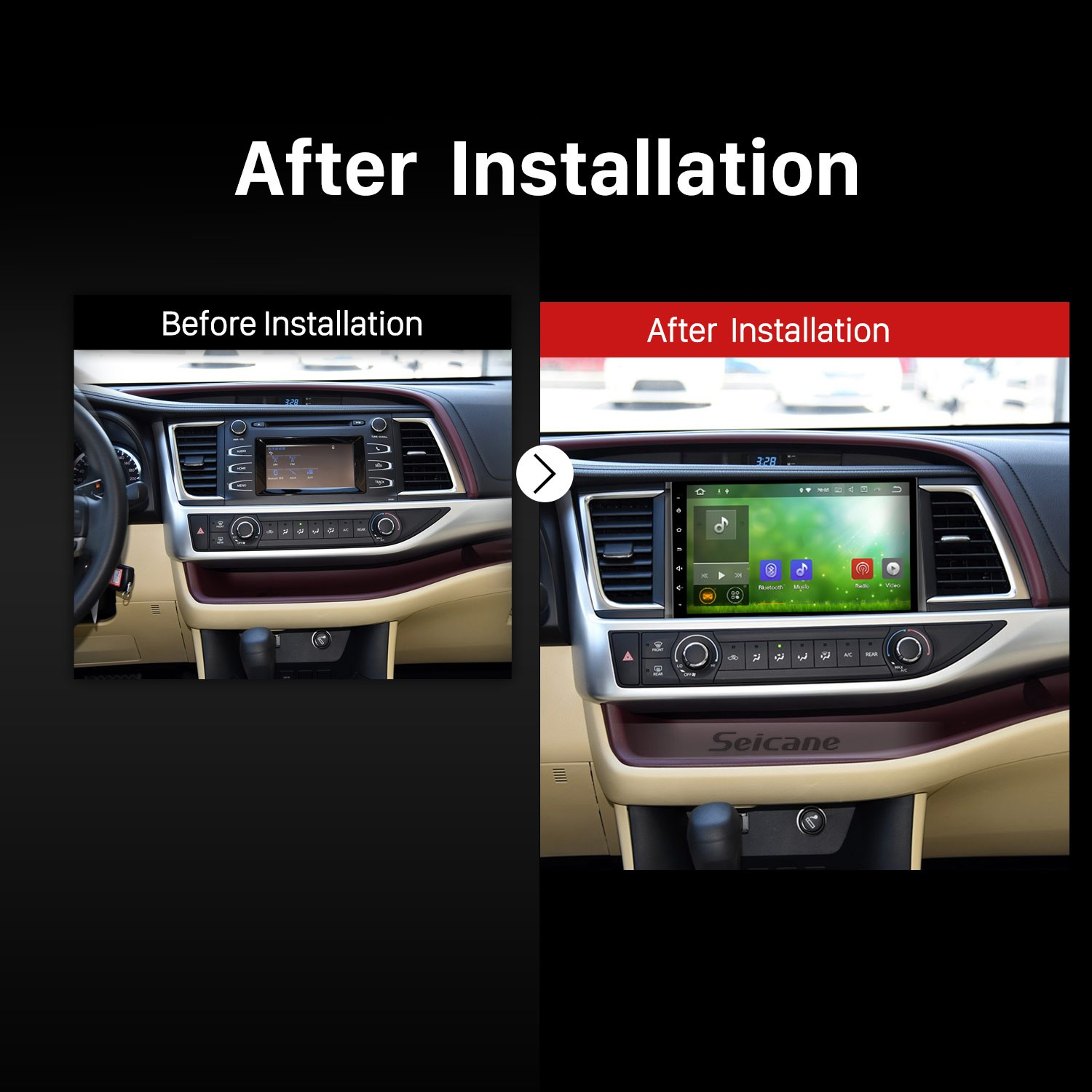 how to install and upgrade a 2015 toyota highlander. Black Bedroom Furniture Sets. Home Design Ideas