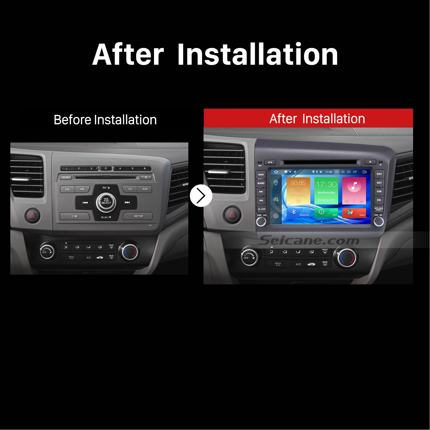 Honda Civic 2012 Navigation Wiring Reinvent Your Diagram Aftermarket Stero Harness Easy Steps To Install A Car Radio With Bluetooth Rh Carstereofaqs Com 2013 System Review