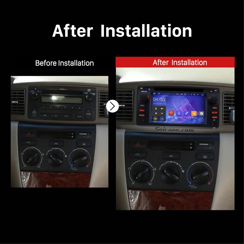 Best Instruction Of Installation And Upgrade For 2003 2004 2005 2006 2007 Toyota Corolla E120