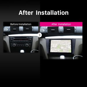 2005 2006 2007 2008-2012 BMW 3 Series E90 E91 E92 E93 Bluetooth Car Radio after installation