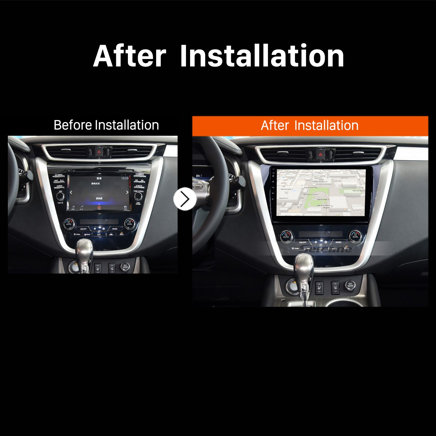How To Install And Upgrade 2015 Nissan Murano Gps Navigation Installation A Car Stereo Radio After
