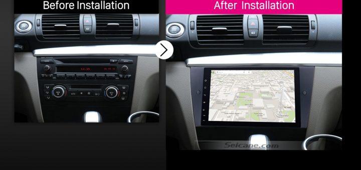 2005 2006 2007 2008-2012 BMW 3 Series E90 E91 E92 E93Bluetooth Car Radio after installation