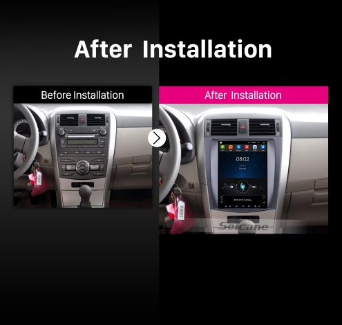 radio for toyota corolla 2012